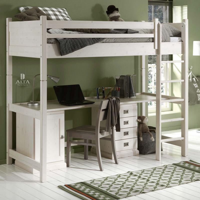 Hoogslaper Met Buro.Alta Hoogslaper Deelbaar Met Bureau Alta Furniture