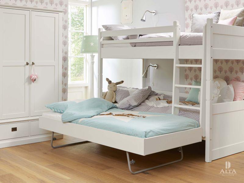 Drie Dubbel Stapelbed.Alta Stapelbed Met Jump Up Bed Deelbaar Alta Furniture