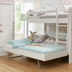 Alta Bunk bed with Jump-Up guest bed, divisible