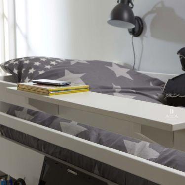 Alta Scaffale per letto, 80x20 cm
