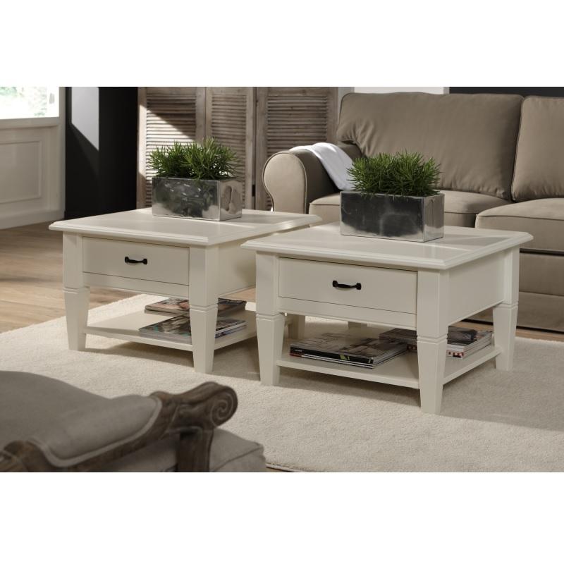 Salontafel alta met 1 lade 70x70 cm alta furniture - Salontafel ...