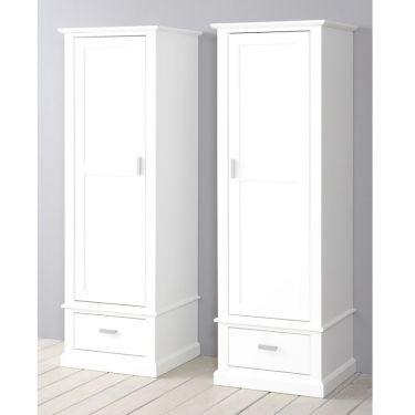 Alta Kleiderschrank, 1 Tür, 1 Schublade, links