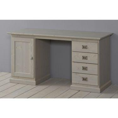 Alta Schreibtisch, 1 Tür und 4 Schubladen, 145 cm