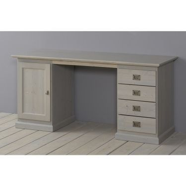 Alta Schreibtisch, 1 Tür und 4 Schubladen, 157 cm