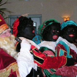 Sinterklaasviering bij Apollo op 27-11-2010
