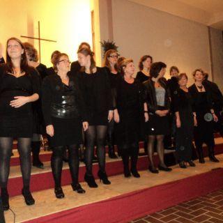 Apollo's kerstconcert 2013 met koor Joyful