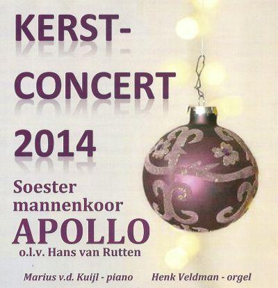 CD Kerstconcert 2014