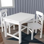 Kindersetje Silvretta - tafeltje met 2 stoeltjes