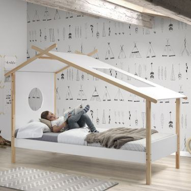 Bed Cocoon, 90x200 cm
