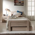Bed Aline met matraslade