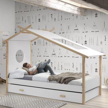 Bed Cocoon met matraslade