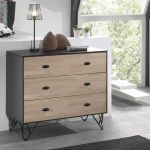 Commode William, met 3 laden