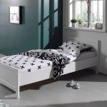 Bed Erik, wit, 90x200 cm