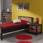 Bed Alex, 90x200 cm