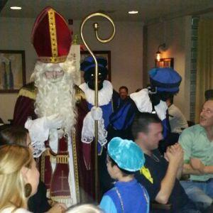 Sinterklaas bij Bowling Overhees