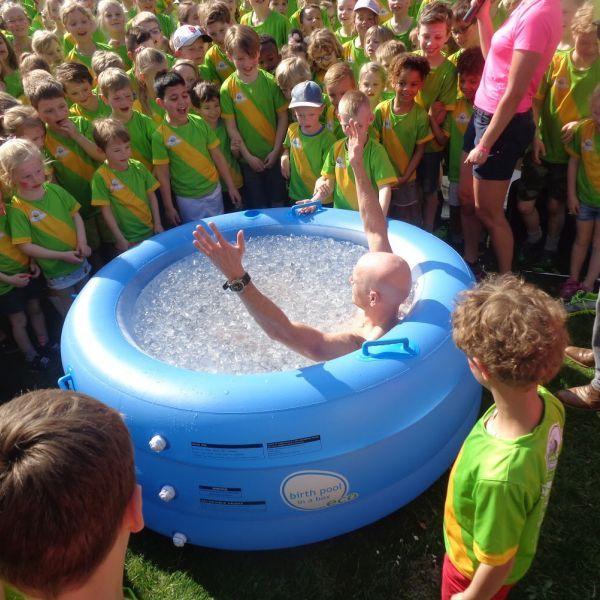 Koude douchen voor het goede doel - ALS