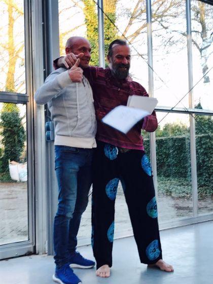 Uitreiking instructeurs certificaat Wim Hof methode