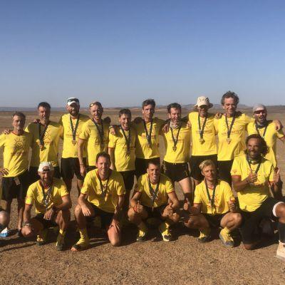Missie volbracht Marathon Des Sables 2021