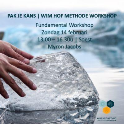 Wim Hof Fundamental Workshop | zondagmiddag 14 februari | Myron Jacobs