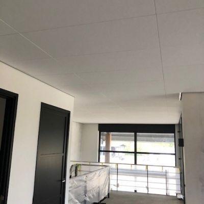 Verdekt 60x120 systeemplafond in Odijk