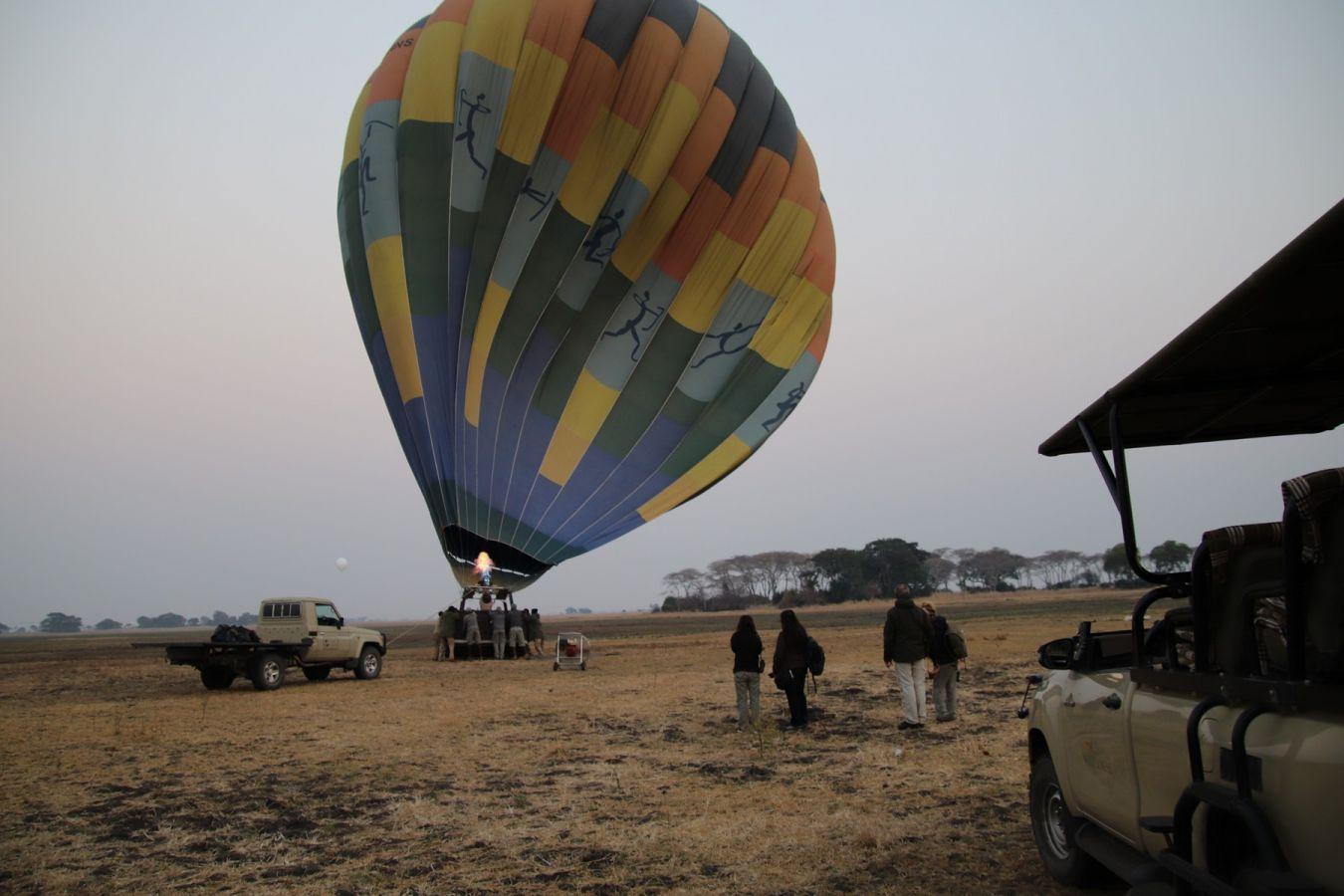 Ballonvaart Busanga Plains - ©Fair Mundo Travel