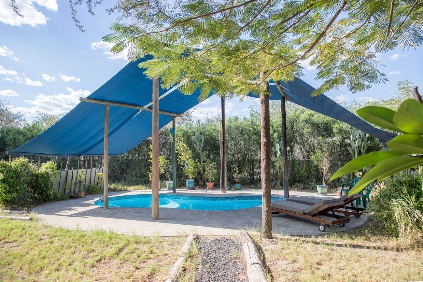 Boteti River Camp zwembad