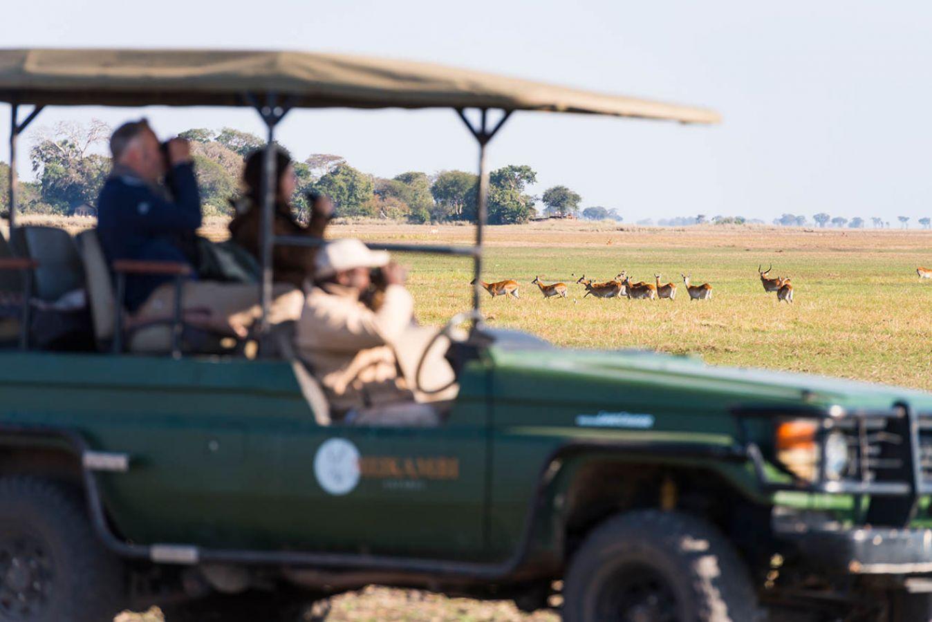 Busanga Plains Camp safari
