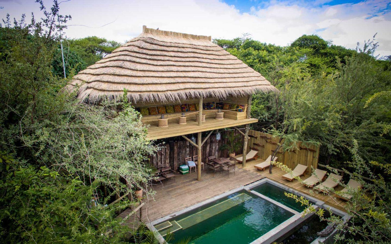 Chobe Bakwena Lodge zwembad