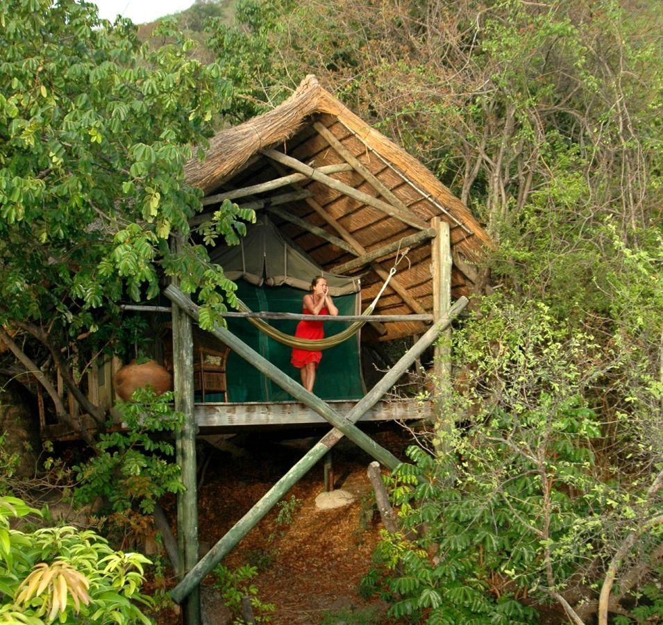 Domwe Island Camp safaritent