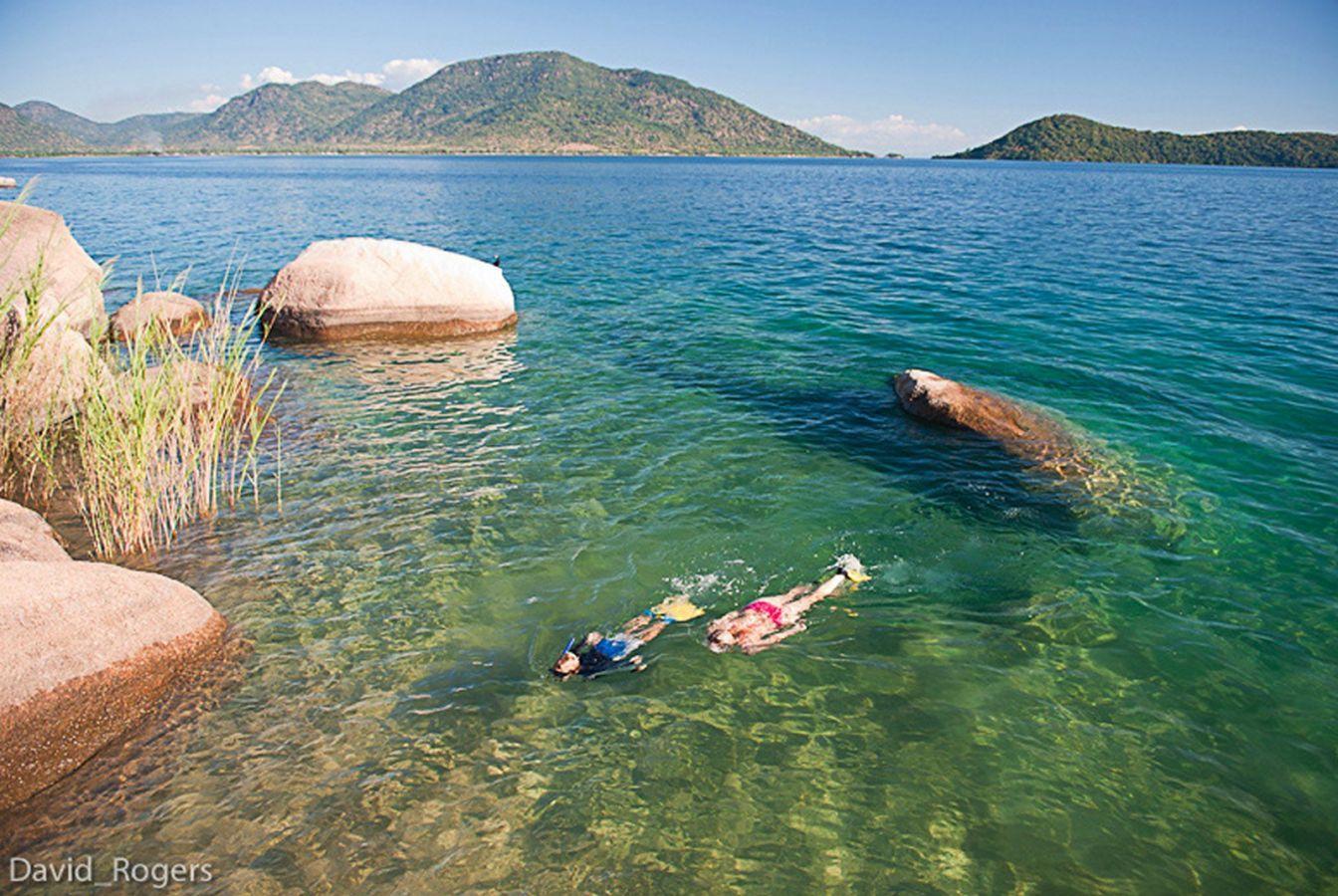 Domwe Island Camp snorkelen