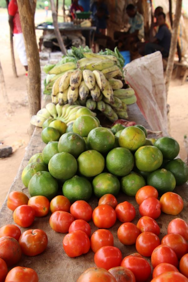 Eten bij Locals naar de markt