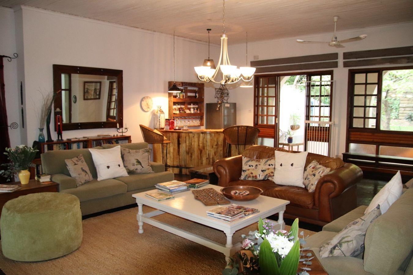 Heuglin's Lodge lounge binnen
