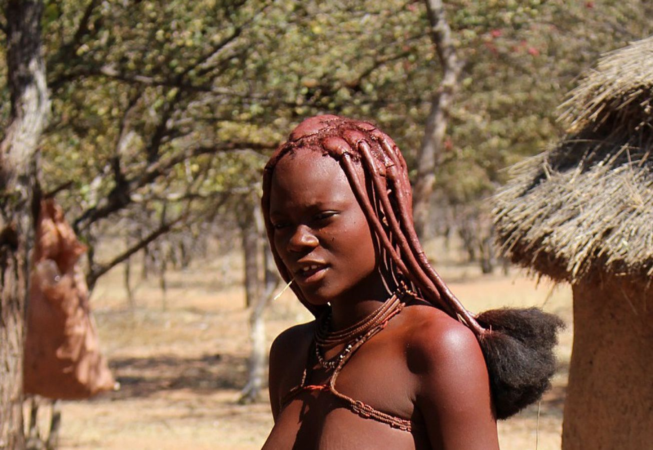 Himba in Kaokaland