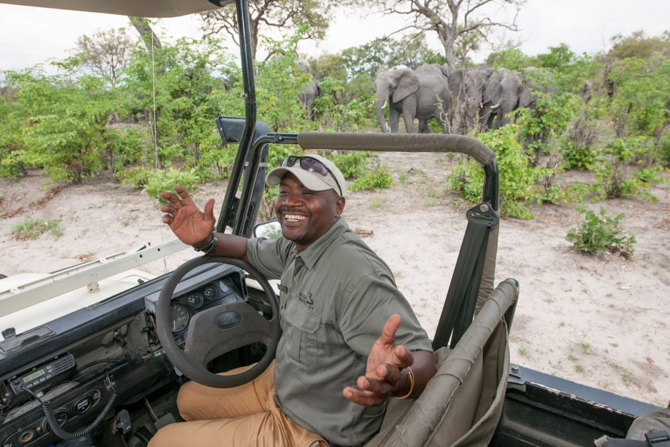 Khwai Guesthouse game drive