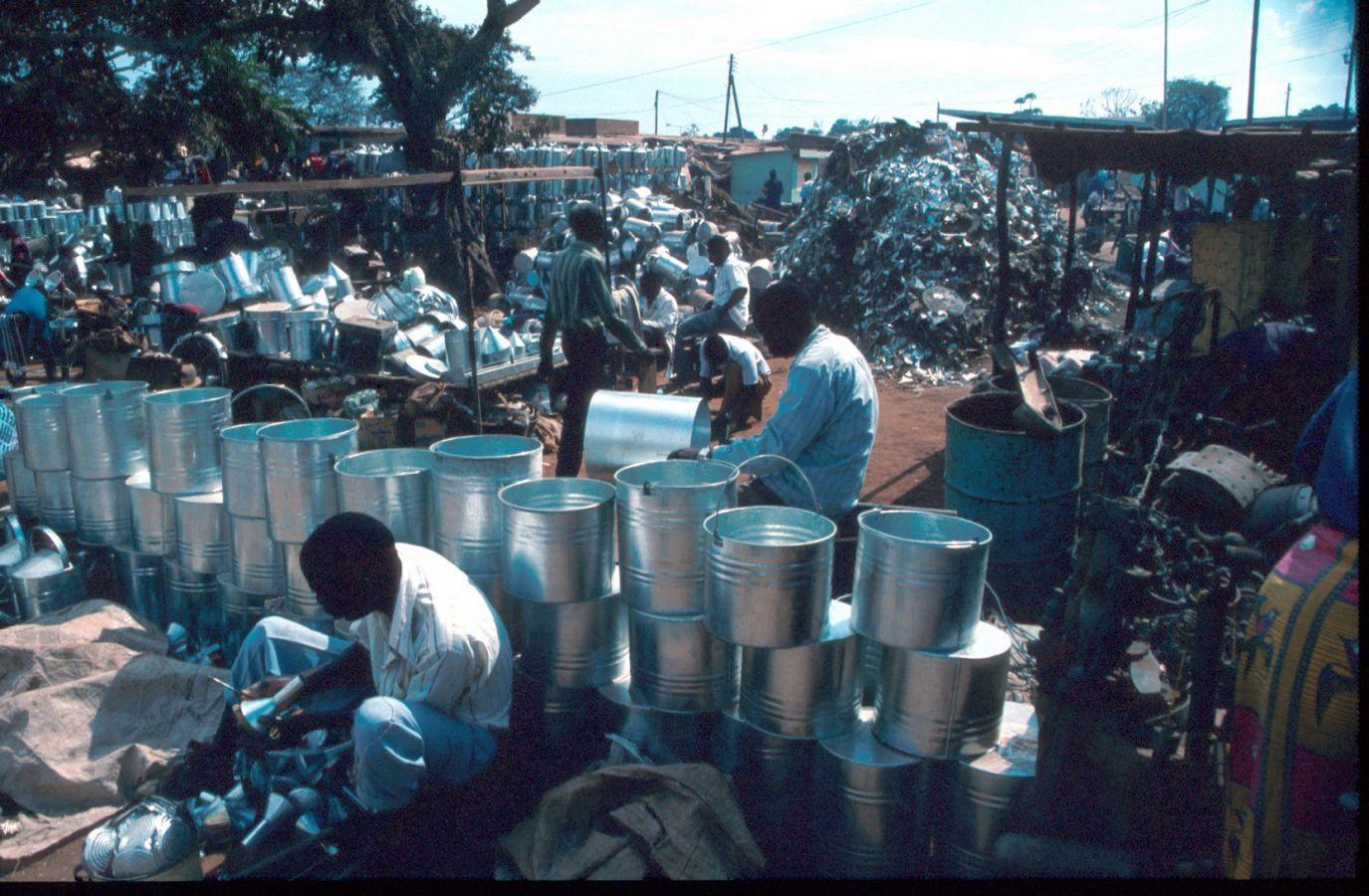 Lilongwe markt tonnen