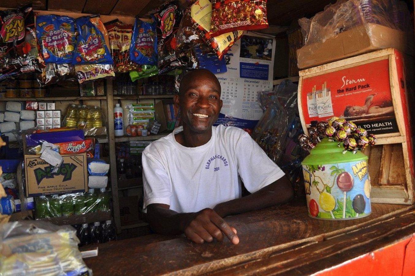 Lusaka lokale winkel