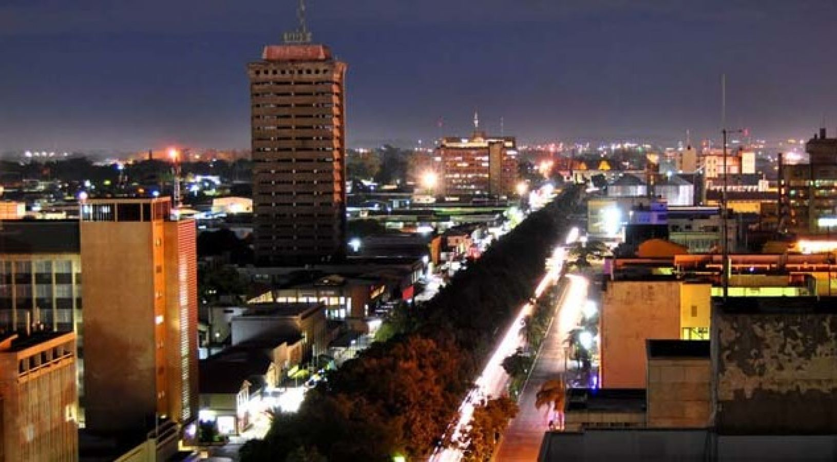 Lusaka by night