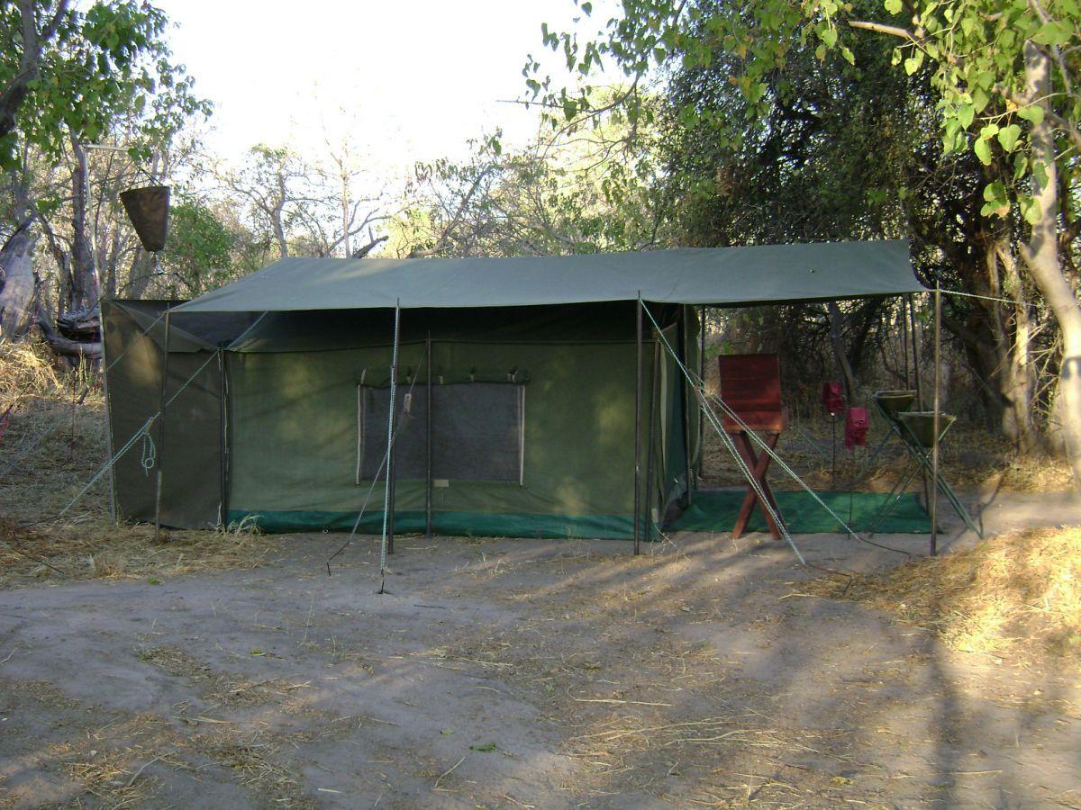 Luxe mobiele kampeersafari met privé gids