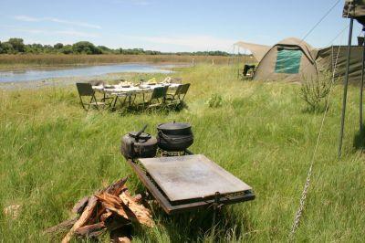 Luxe mobiele kampeersafari in kleine groep
