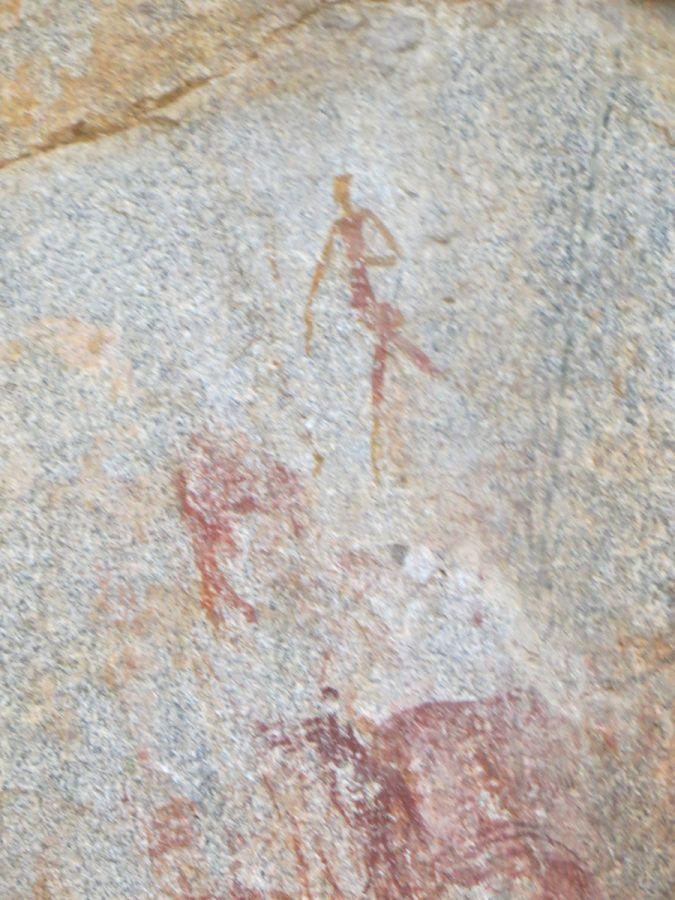 Rotstekening San in Matobo National Park  - ©Fair Mundo Travel