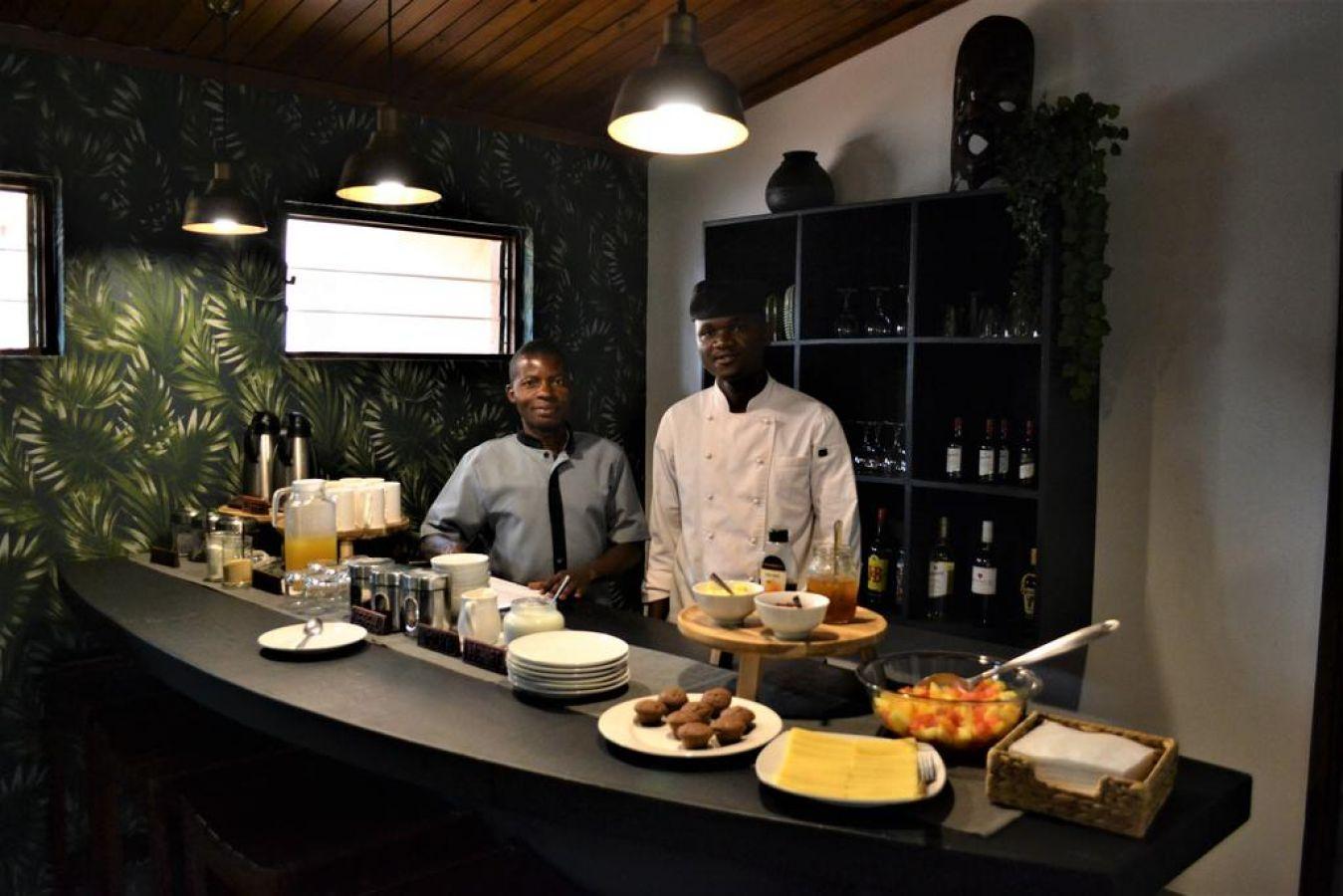 Mitengo House ontbijt