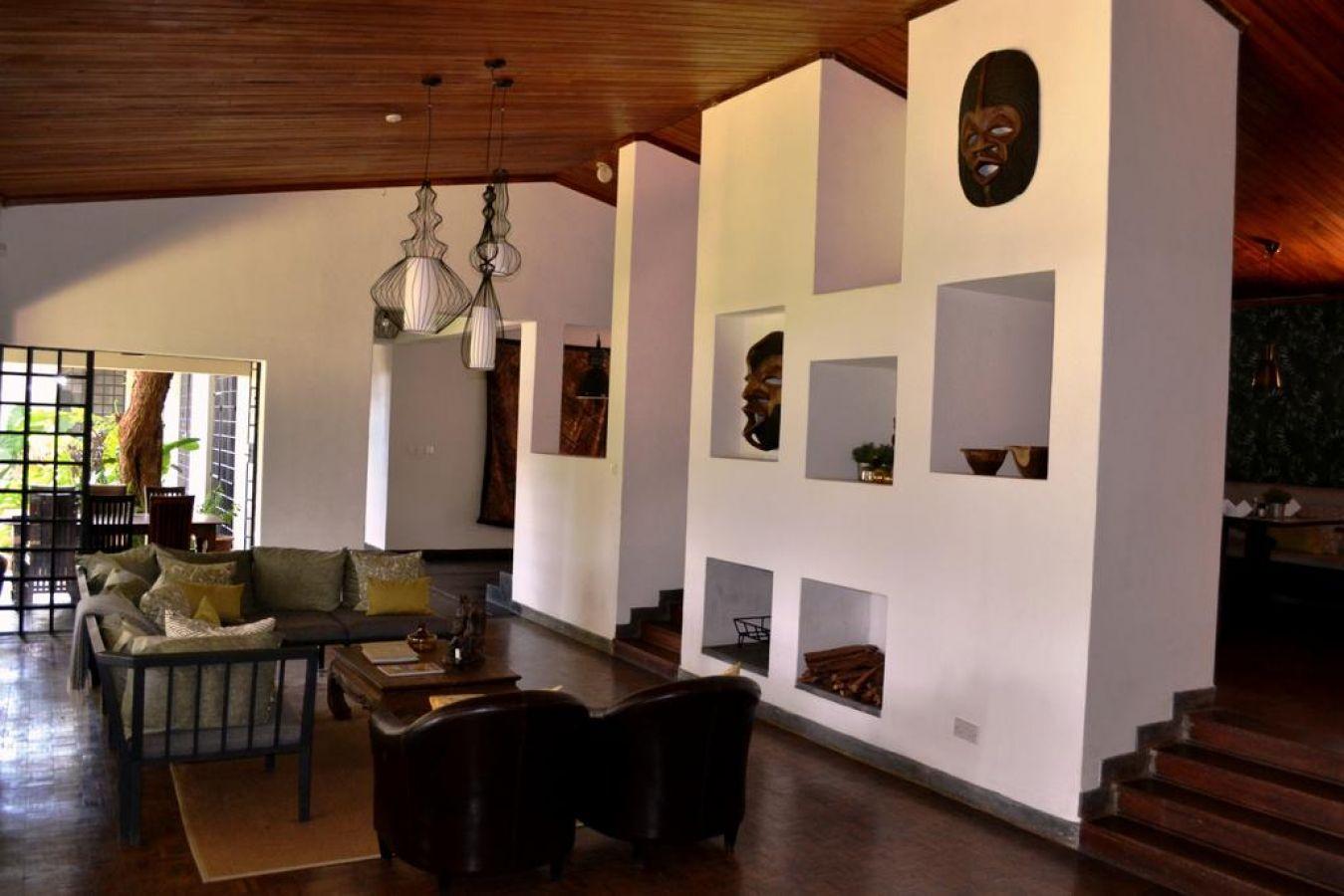 Mitengo House lounge binnen