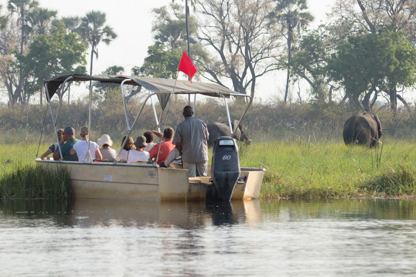 Moremi Crossing bootsafari