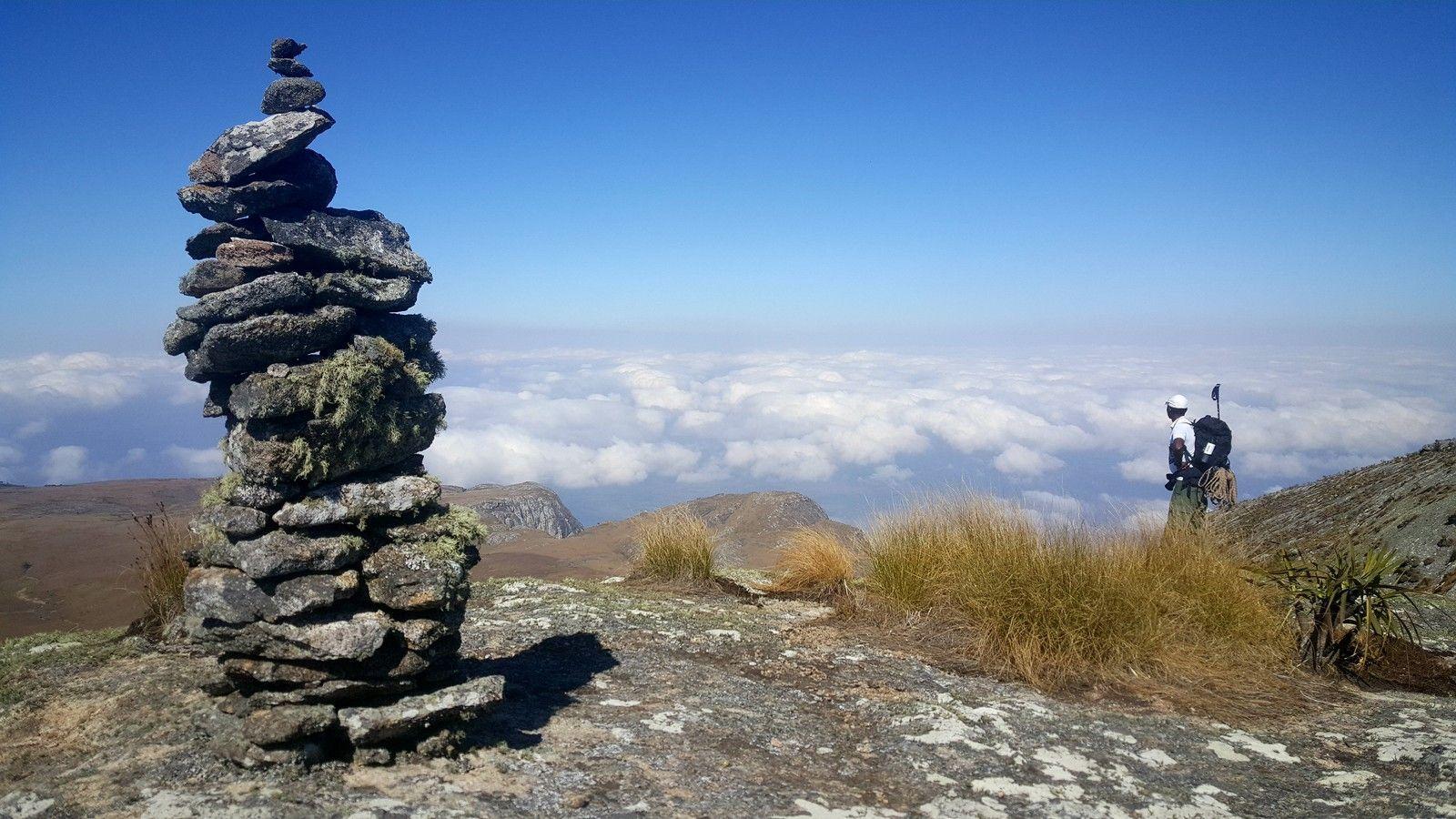 bovenop Mount Mulanje