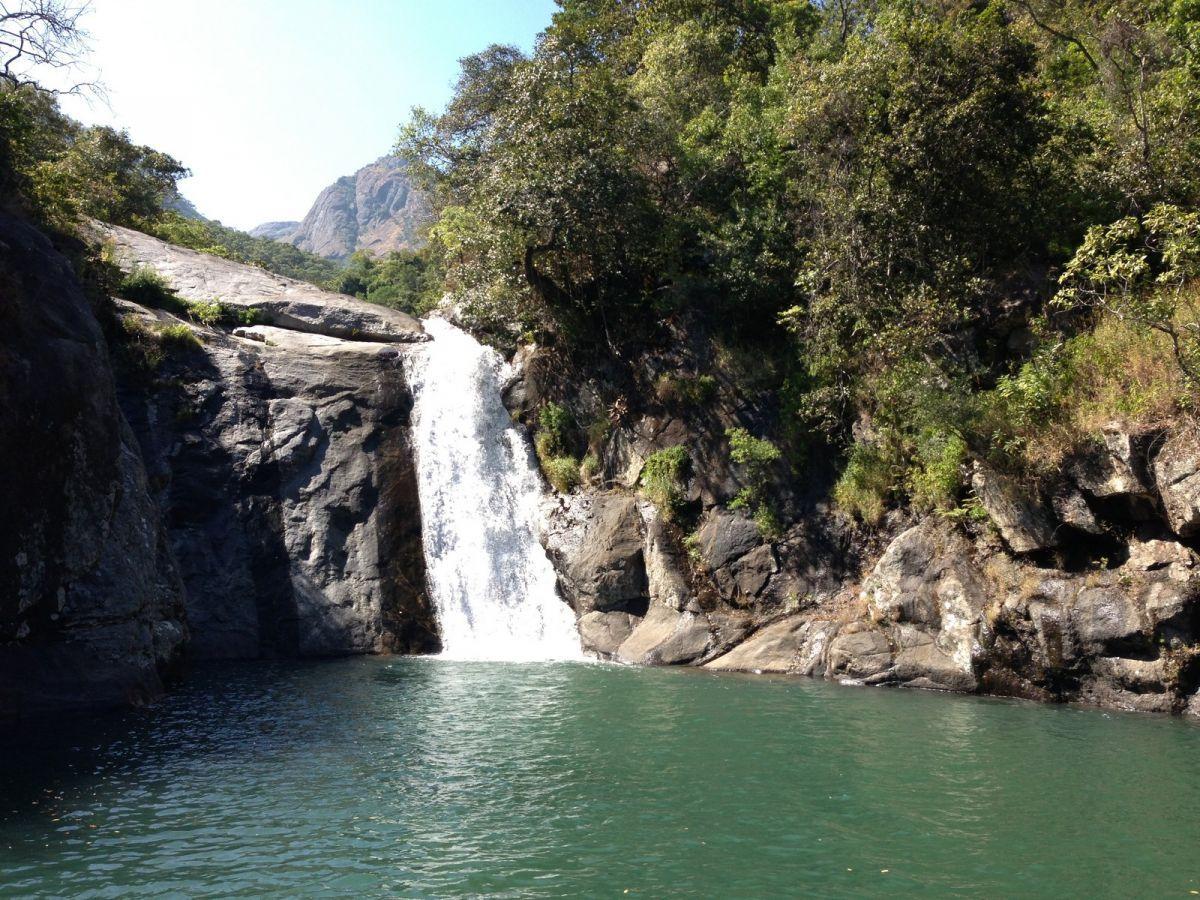 Mount Mulanje waterval