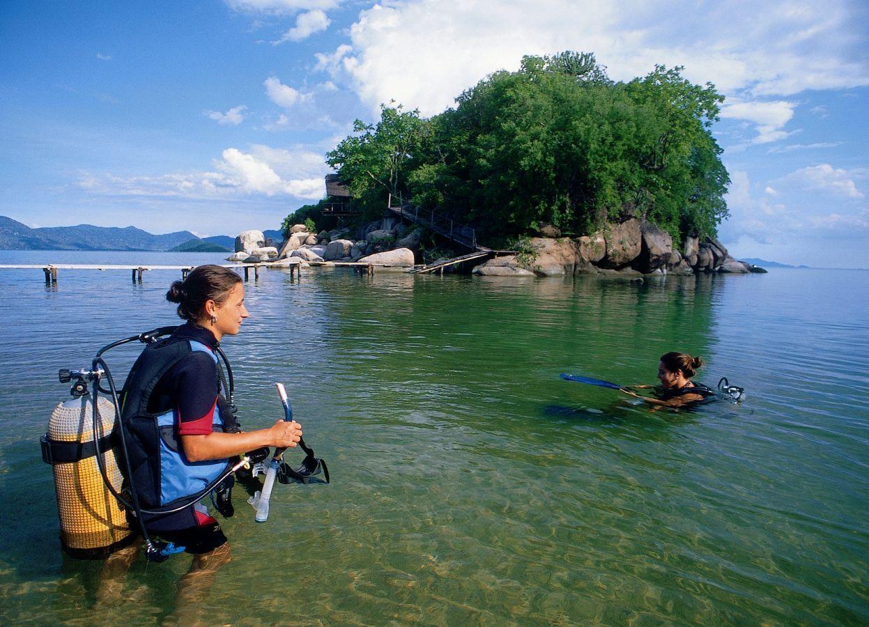 Mumbo Island Camp duiken