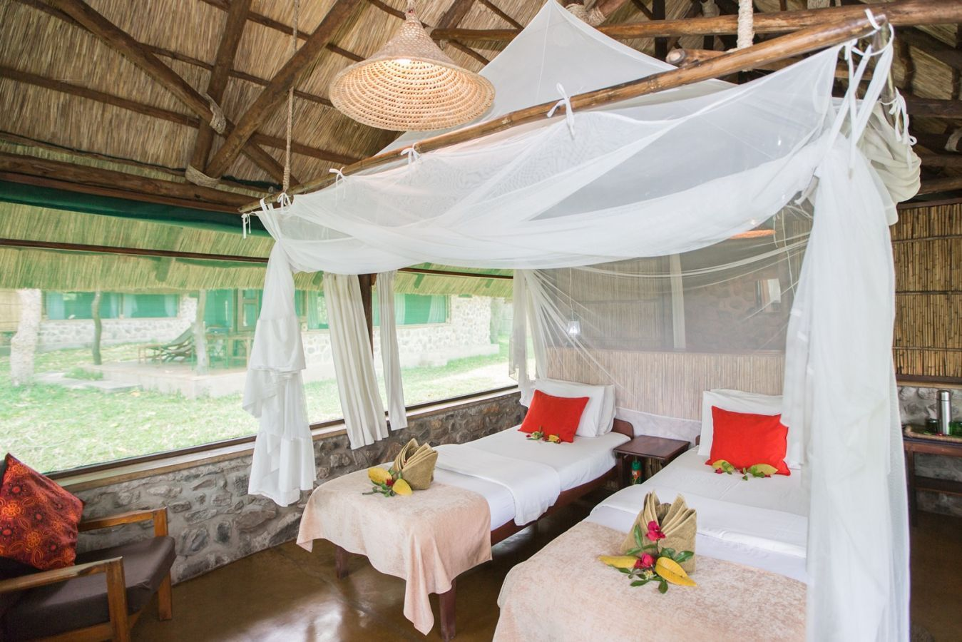 Mvuu Camp chalet