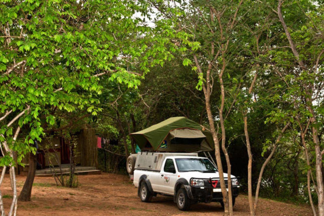 Namushasha River Lodge daktent