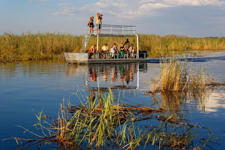 Namushasha River Lodge bootsafari