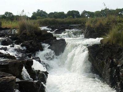 Mahango Game Reserve en Popa Falls
